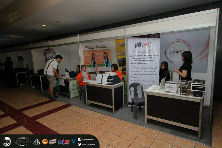 *Photo courtesy of UP Career Fair 2015 - https://www.facebook.com/UPCareerFair