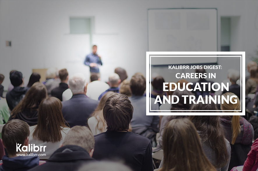 Jobs in Education and Training