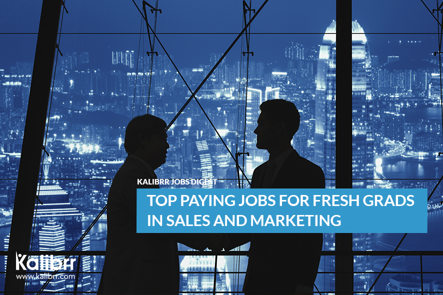 High Paying Jobs Sales and Marketing
