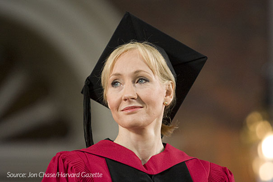 JK Rowling Graduation Speech