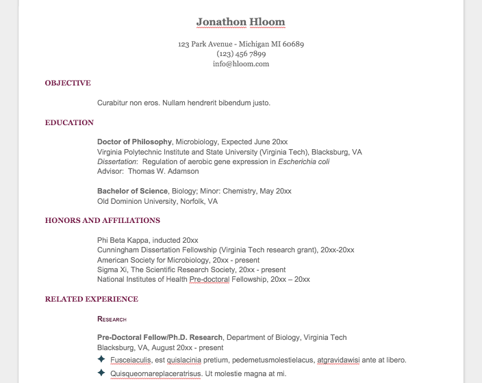 10 Resume Templates You Can Download For FreeKalibrr Career Advice