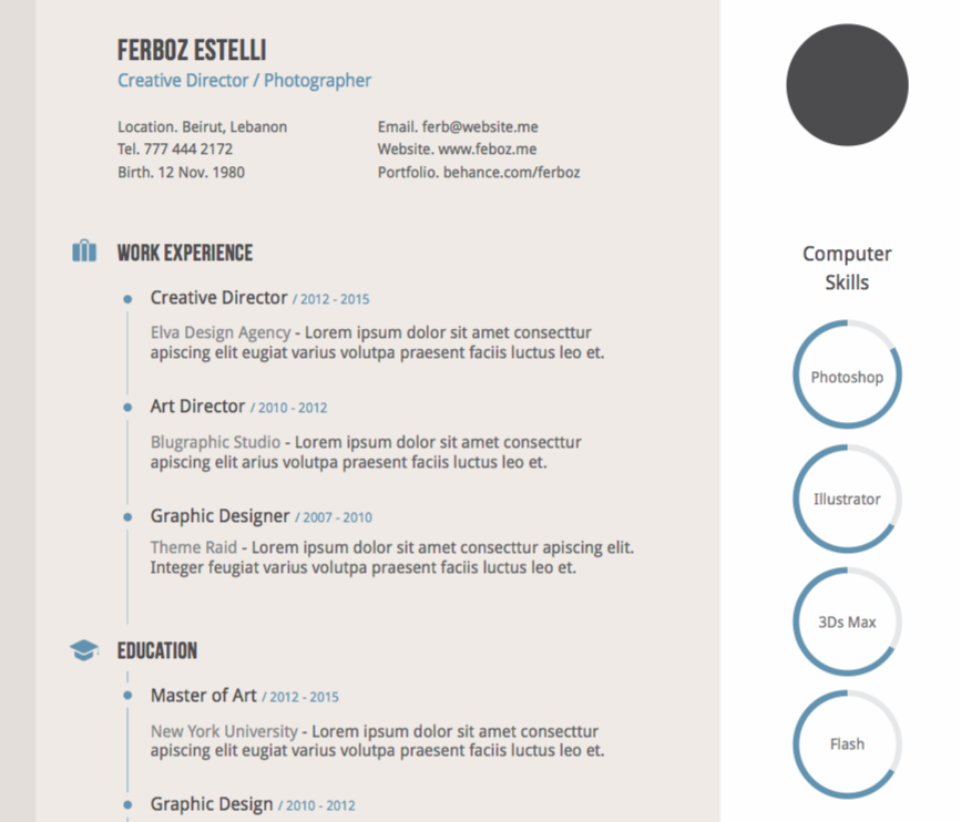 10 Free Resume Templates For The Creatively Challenged Kalibrr